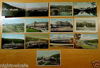 12 Antique Postcards ALL FABYAN HOUSE, NH New Hampshire WHITE MOUNTAINS