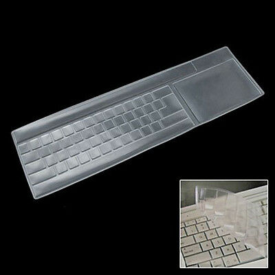 Clear Universal Keyboard Skin Protector Cover for PC Computer Desktop HY