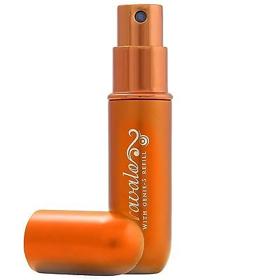NEW Travalo Perfume Atomiser Classic Excel Orange 5ml FREE P&P