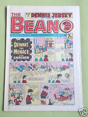 The Beano  - Uk Comic - 17 May 1980 - # 1974