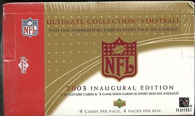 2003 Ultimate Collection Factory Sealed Hobby Box FREE SH!!!