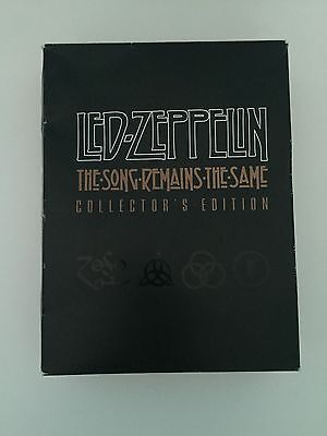 Led Zeppelin The Song Remains The Same Collector's Edition