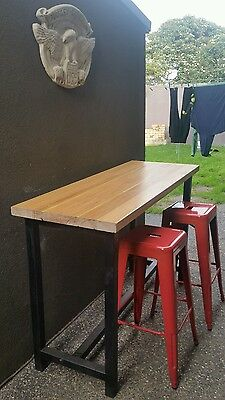 vintage industrial Table  restaurant cafe bar bench