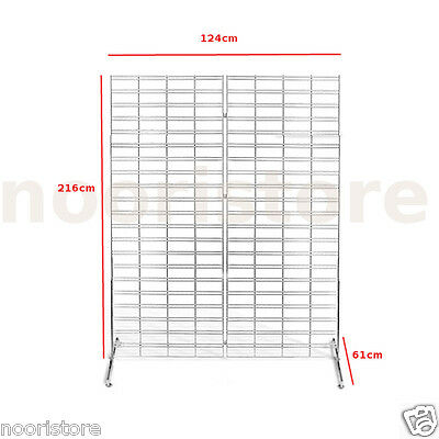Retail Shop Fitting Grid Necklace Display Stand Rack Unit Scarf Racks Stands