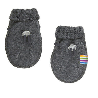 Joha Merino Wool Fleece Baby Mittens that STAY on!