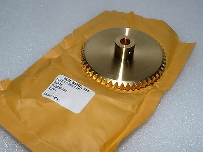 Ne W.m. Berg W16B35-F50 Worm Gear 50Teeth 3.125 Pitch Diameter Bronze Right Hand