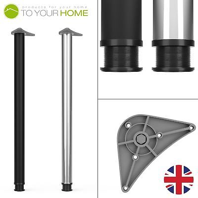 870mm 900mm Adjustable Kitchen Worktop Desk Breakfast Bar Table Legs Support