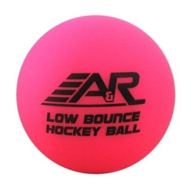NEW A&R Roller Street Floor Hockey Low Bounce Ball Cool Temperature Use Pink