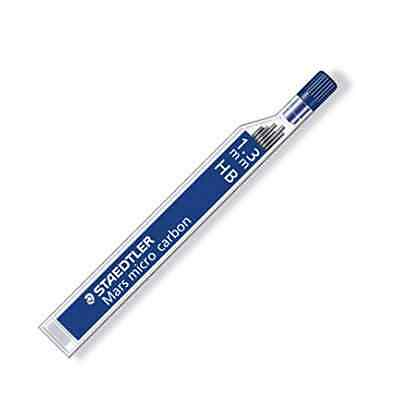 STAEDTLER 251 Mars 1.3 mm micro carbon refill leads for 771 pencil - HB