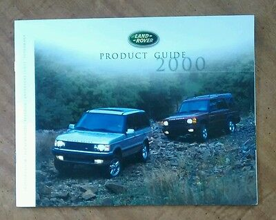 2000 Land Rover Brochure