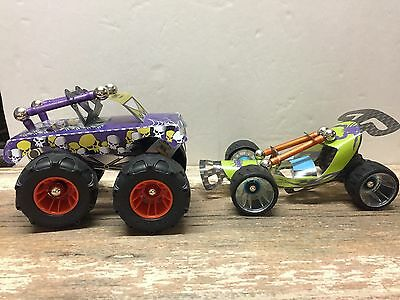 Geomag WHEELS Race Truck Dune Buggy Set of 2 Cut out Body