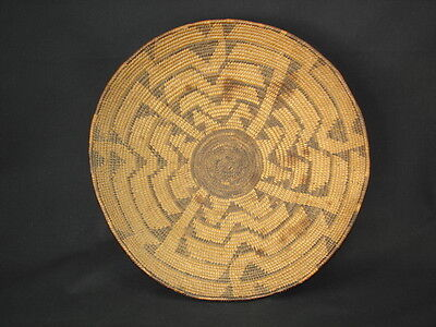 A Pima Basket, Native American Indian, Circa: 1908