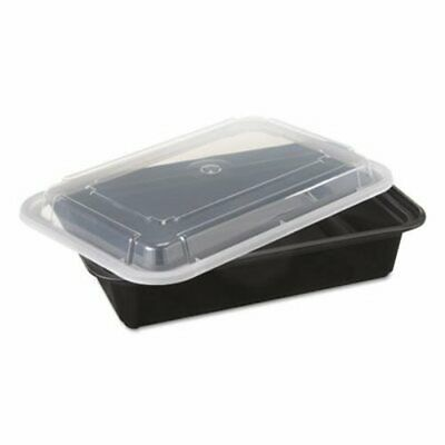 38-oz. Versatainer Rectangular Food Containers, 150 Containers (PAC NC888B)