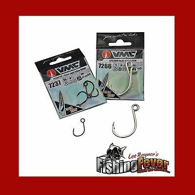 VMC Inline Single Hooks At FISHING FEVER