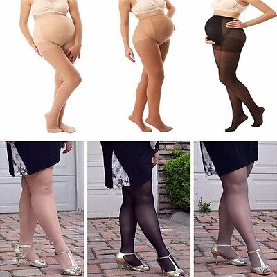 Sexy Plus Size Womens Pantyhose Pregnant Maternity Tights Socks Stockings Pants