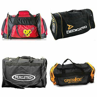 Mens Stylish Gym Sports Training Travel Shoulder Bags USN BSN Grenade Muscletech