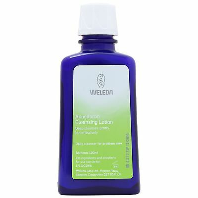 Weleda Face Aknedoron Cleansing Lotion 100ml for her BRAND NEW