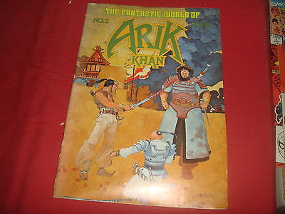 ARIK KHAN #2 Underground Comix  Andromeda Press FN  1978