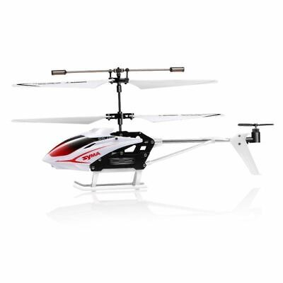Syma S5 White Mini RC Helicopter Infrared Radio Control 3Channel Gyro Anti Shock