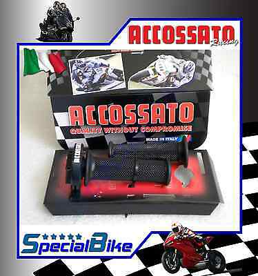 Kit Comando Gas Rapido Bmw S 1000 Rr Hp4 2013 > 2014 Accossato Ergal