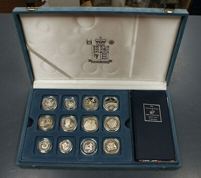 1995 RM United Nations 50th Anniversary Silver Proof Coin Collection Rare