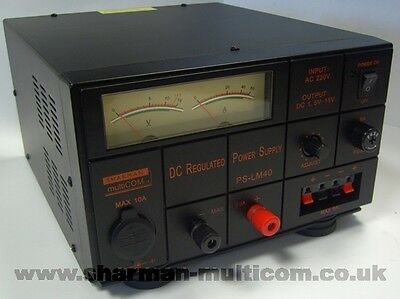 Sharman Lm40 Variable Voltage Linear Power Supply 40Amp