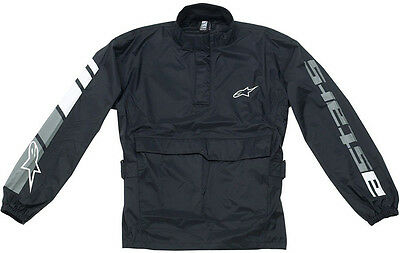 2016 Alpinestars RJ-5/RP-5 Rain Jacket - Street Bike Riding Racing Mens