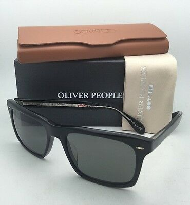 d135308535 Polarized OLIVER PEOPLES Sunglasses BRODSKY OV 5322SU 1492K8 Black Frame w   Grey