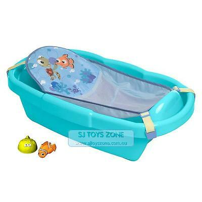 Tomy First Year Deluxe Sturdy Convenient Newborn to Toddler Bath Tub Nemo