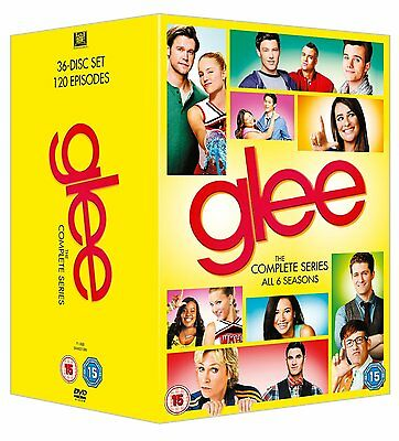 The Glee Complete Season 1, 2, 3, 4, 5 & 6 Dvd Box Set 1 - 6 Collection New