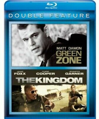 Green Zone / Kingdom [New Blu-ray] 2 Pack, Snap Case