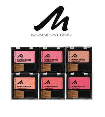Manhattan Powder Rouge Blusher Shades Of Pinks *choose Colour*