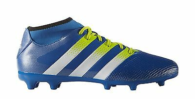 quality design 27822 bcee7 ADIDAS ACE 16.3 Primemesh Fg/ag Mens Sock Football Boots Blue