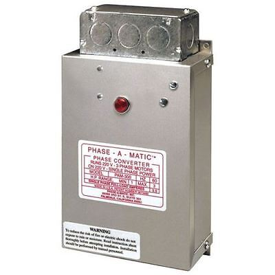 Phase-A-Matic - Static Phase Converter - Model Pam-900