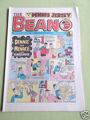 The Beano  - Uk Comic - 13 Sept 1980  - # 1991