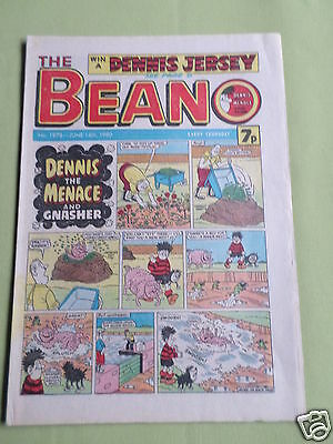 The Beano  - Uk Comic - 14 June 1980- #1978