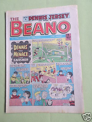 The Beano  - Uk Comic - 18 Aug 1984 - # 2196