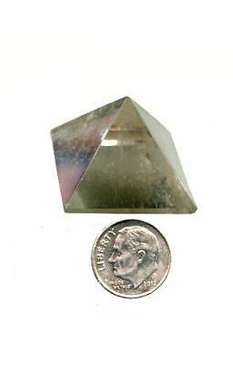 Quartz Crystal Pyramid  #1 - Medium