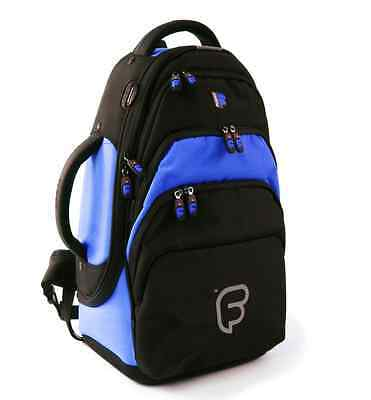 Fusion F1 Flugelhorn Blue - Gig Bag Backpack Inner Sleeve Rugged Comfortable