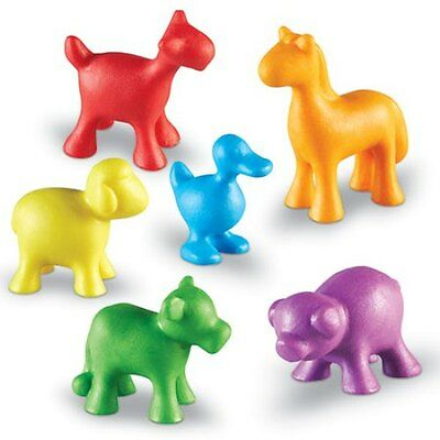 In The Barn Farm Animal Counters Set Of 24 Ler3672 Brand New