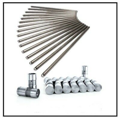 "Manley Push Rod Set 25747-16; Steel .080/"" Wall 5//16/"" 8.150/"" for Ford 351W SBF"