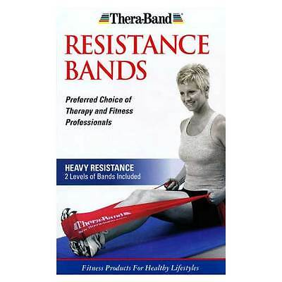 Thera-Band Heavy Resistance 2-Pack Exercise Bands