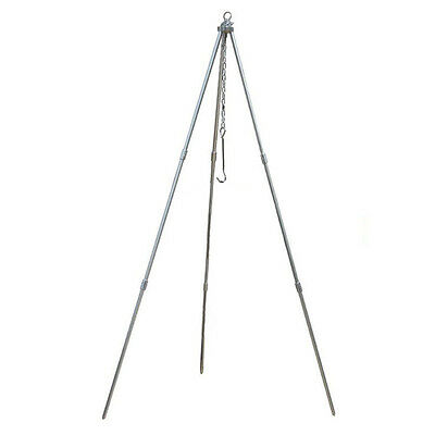Outdoor Cooking Camping Picnic Campfire Bonfire Party Tripod Portable Holder HY
