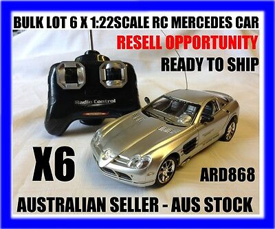 Bulk Lot Of 6 X Rc 1/22 Rc Mercedes Cars - Resell Opportunity - Aus Seller -