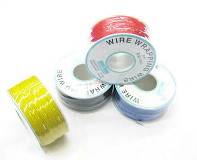 1000Ft 180°C High Temperature Silver Plated Copper Wrapping Wire Cable 30AWG