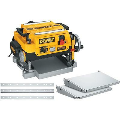Dewalt DW735X 13 in. Heavy Duty 2-Speed Thickness Planer with Knives and Tables