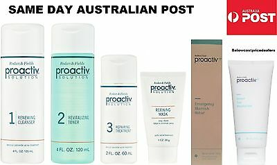 PROACTIV 6 PIECE/STEP 60 DAY FULL SET Proactive Toner Lotion Cleanser 3 4 6