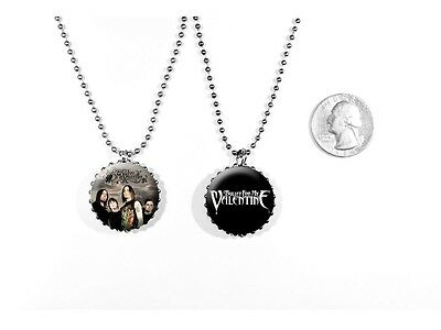 Bullet for My Valentine Heavy Metal Matthew Tuck 2 Sided Necklace