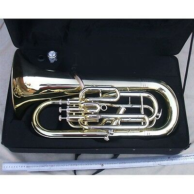 Euphonium horn kit gold  plated body Bb key NEW !
