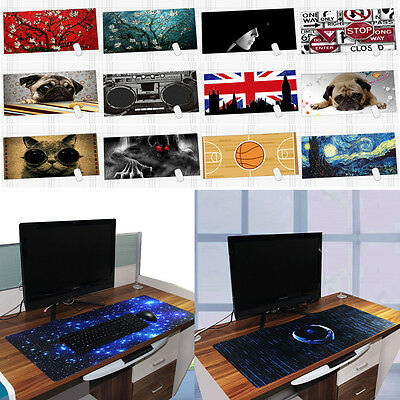 90x40cm Rubber Gaming Mouse Pad Mat for PC Laptop Computer Large XL keyboard Mat